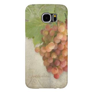 Het Art. van de Wijngaard van de Druiven van de Samsung Galaxy S6 Hoesje