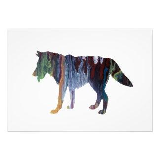 Het art. van de wolf foto