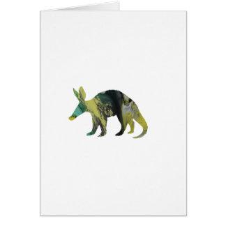Het Art. van het aardvarken Briefkaarten 0