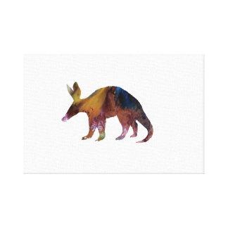 Het Art. van het aardvarken Canvas Afdruk