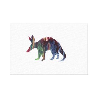 Het Art. van het aardvarken Canvas Afdrukken