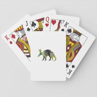 Het Art. van het aardvarken Speelkaarten