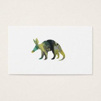 Het Art. van het aardvarken Visitekaartjes