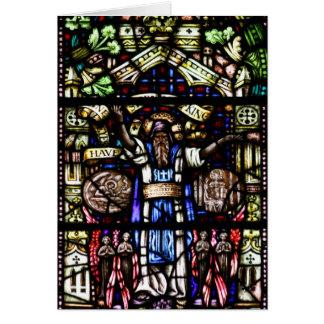 Het Art. van het Gebrandschilderd glas van Isaiah Kaart