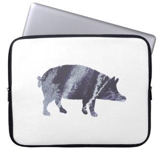 Het art. van het varken computer sleeve