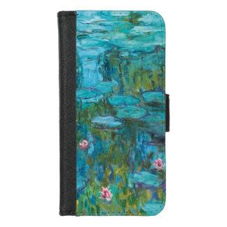 Het Art. van Nymphéas GalleryHD van de Waterlelies iPhone 8/7 Portemonnee Hoesje