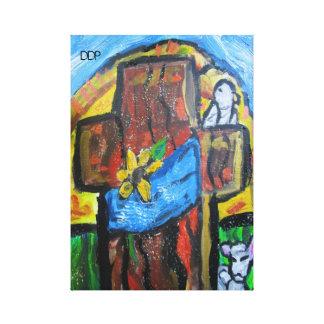 Het art. van Pasen Gallerij Wrap Canvas