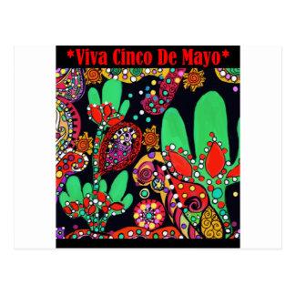 HET ART. VAN VIVA CINCO DE MAYO BRIEFKAART