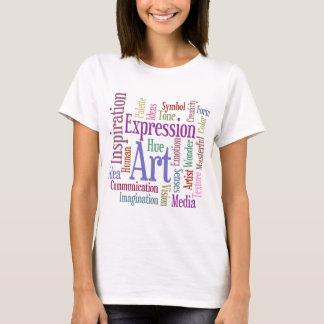 Het Art. van Word van de Inspiratie van de T Shirt