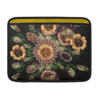 Het artistieke bloem-Gebied sleeve van de Lucht va Sleeve For MacBook Air
