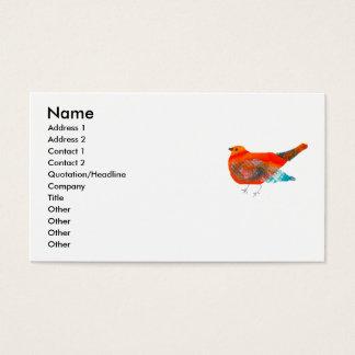 Het artistieke Ontwerp van de Natuur met Rode Visitekaartjes