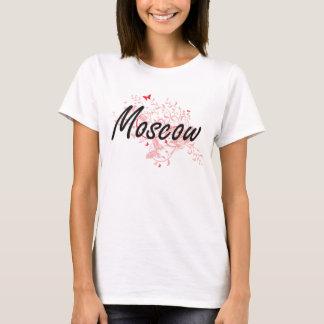 Het Artistieke ontwerp van de Stad van Moskou T Shirt