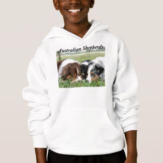 Het Australische Sweatshirt Met een kap van de