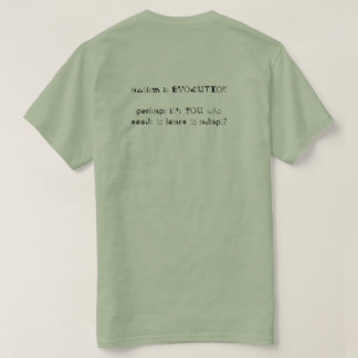 het autisme is evolutie t shirt