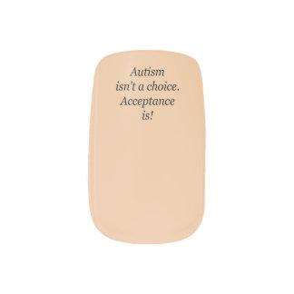 Het autisme is keusminx geen spijkers minx nail art