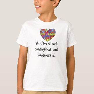Het autisme is niet besmettelijk t shirt