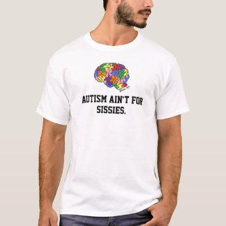 """Het """"autisme is niet voor lafaards"""" t-shirt"""