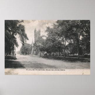 Het Ave van Euclid., de Wijnoogst van Cleveland, Poster