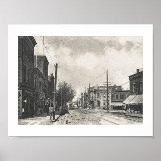 Het Ave van het park., Rutherford, de Wijnoogst Poster