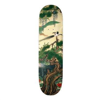 Het Aziatische Rode Skateboard van de Vogel van