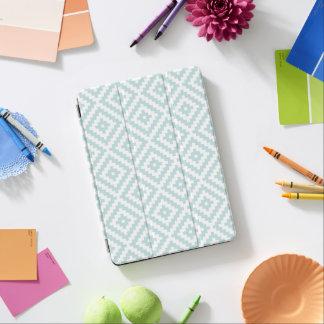Het Azteekse Ei Blauwe & Witte I van de Eend van iPad Air Cover