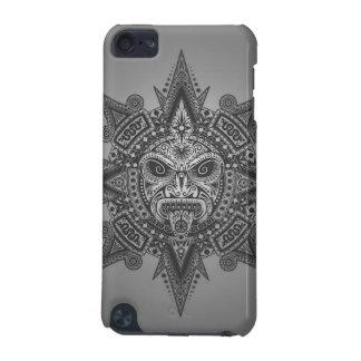 Het Azteekse Masker van de Zon - grijs iPod Touch 5G Hoesje