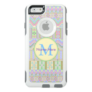 Het Azteekse Monogram iphone6 Elegante Girly van OtterBox iPhone 6/6s Hoesje