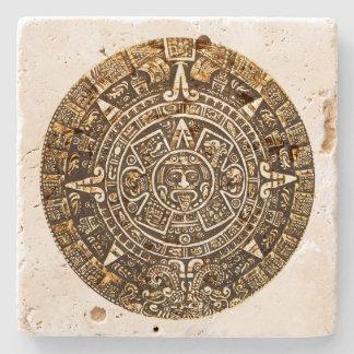 Het Azteekse Onderzetter van de Steen van de