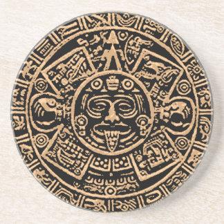 Het Azteekse Onderzetter van het Zandsteen van de