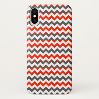 Het Azteekse Patroon van de Streep van de Zigzag iPhone X Hoesje