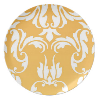 Het azuurblauwe Bord VI van de Theta (Sinaasappel)