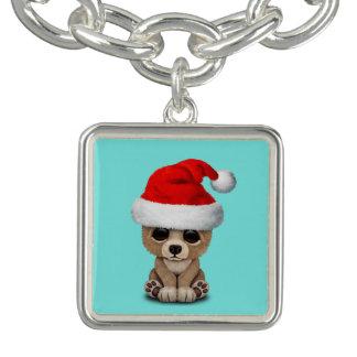 Het baby draagt dragend een Pet van de Kerstman Armbandjes