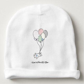 Het baby draagt toenemend met de Ballons van de Baby Mutsje