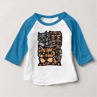"""Het Baby """"geniet van van het Leven"""" 3/4 Raglan Baby T Shirts"""