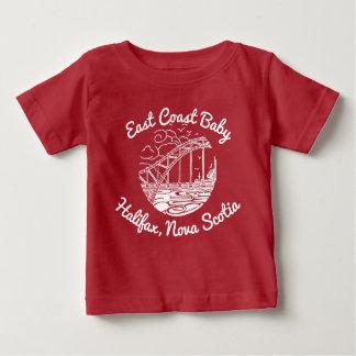 Het Baby Halifax Nova Scotia Canada van de Kust Baby T Shirts