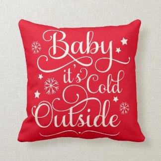 Het baby het is Koude Buitenkant | Vakantie Sierkussen