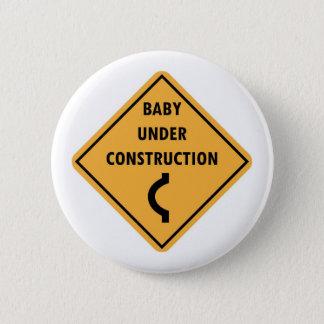 Het baby knoopt in aanbouw dicht ronde button 5,7 cm