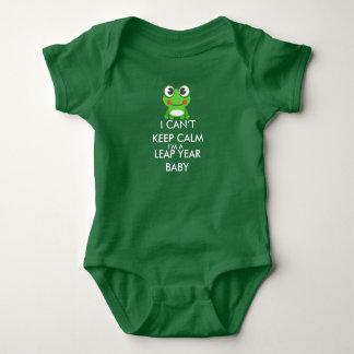 Het Baby Shitrt van de Dag van de Sprong van het Romper