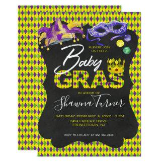 Het Baby shower van Gras van Mardi Kaart