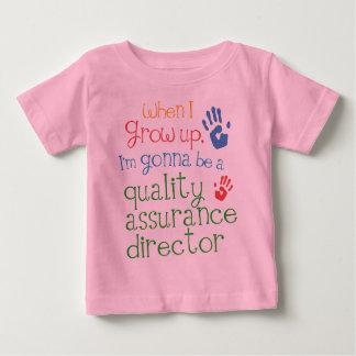 Het Baby T van de Verzekering van de kwaliteit van Baby T Shirts