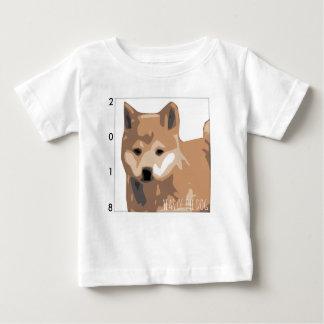 Het Baby T van het Jaar 2018 van de Hond van de Baby T Shirts