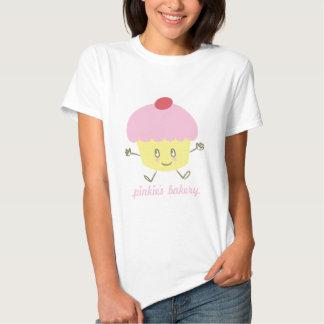 Het Baby van Cupcake van de Bakkerij van de pink - T Shirts