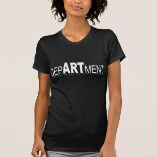 Het Baby van de Afdeling van de Kunst FVCC - pop T T Shirt