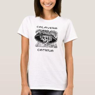 Het Baby van de Dames van Catrina van Calavera - T Shirt