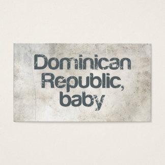 Het Baby van de Dominicaanse Republiek Visitekaartjes