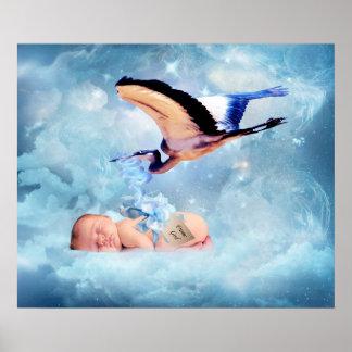 Het baby van de fantasie en het poster van de