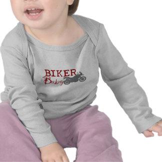 Het Baby van de fietser Shirts