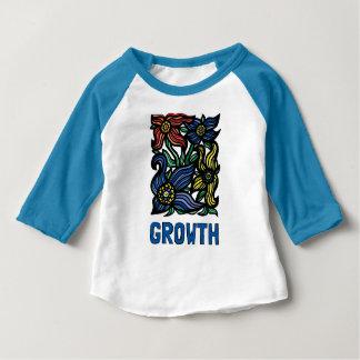 """Het Baby van de """"groei"""" 3/4 Raglan T-shirt"""