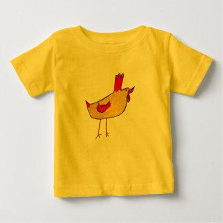 Het Baby van de haan Baby T Shirts