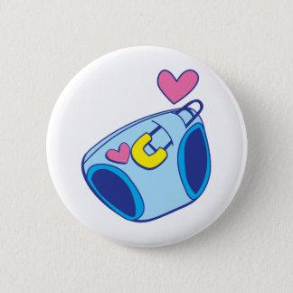 Het baby van de luier ronde button 5,7 cm